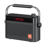 B123 Bluetooth 5.0 Altoparlante Karaoke Doppia sveglia personalizzata Modalità di riproduzione multipla con funzione FM Suono stereo surround a 360 ° 4200mAh Battry Life