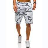 Casual camouflage losse joggingbroek voor heren