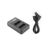 Ruigpro LCD Carregador duplo Bateria para Gopro Hero8 / 7/6/5/4 SJcam 8 Acessórios para câmera esportiva