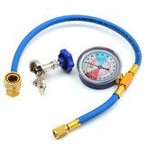 250PSI Manguera de Medición de Recarga Tubo Refrigerante de Válvula de Calibración R134A R12 R22