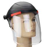 Anti-shock Transparent Len Welding Helmet Face Guard Soldering Mask