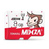 Mixza Ano de Macaco Edição Limitada 8GB U1 TF Micro Cartão de Memória para Câmera Digital MP3 TV Caixa Smartphone