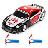 Wltoys K969 1/28 2.4G 4WD Brushed RC Car Drift Car Two Battery