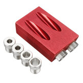 7/8Pcs Pocket Hole Jig Pocket Hole Screw Jig Dowel Drill Joinery Kit Woodworking Guides Tool