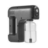Pulverizador nebulizador 380ML portátil ULV Nano Pulverizador nebulizador de atomização de luz azul USB para carregamento e desinfecção Pulverizador desinfetante elétrico de 3 níveis ajustável sem fio