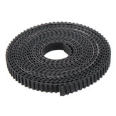 2Meters T2.5-6mm PU with Steel Core GT2 Open Timing Belt For Reprap Timing Pulley 3D Printer Parts