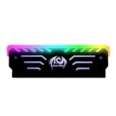 1 Piece 3Pin RAM RGB Memory Vest LED 256 Colors Light Effect Aluminum Cooler Heat Sink Cooling For DIY PC Game DDR3 DDR4