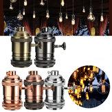 E26 / E27 Retro vintage Edison suporte da lâmpada industrial lâmpada Tomada com interruptor