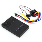 New 1/10 1/8 WP Crawler Brush Brushed 80A Electronic Speed Controller Waterproof ESC With Program Card
