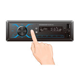bluetooth Car Radio MP3 Player 1 DIN In Dash 12V Audio Stereo FM USB/WMA/FLAC