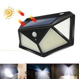 300LED Waterproof Solar Light Infrared Motion Sensor Wall Light Outdoor Garden Light