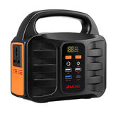 XMUND XD-PS6 155Wh Camping Solar Power Generators Portable Power Station with 110V 220V AC Outlet 2 DC Ports USB QC3.0 LED Flashlights Power Bank Outdoor Emergency Power Source Box