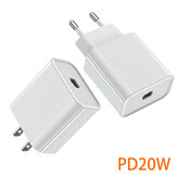 Bakeey PD 20W USB-C Charger EU US Plug Fast Charging For iPhone 12 12Pro 12Mini Huawei P30 P40 Pro Mate 40 Pro