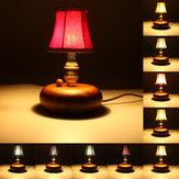 Lint abażur wisiorek kinkiet światła wisi w stylu europejskim Vintage Home Bedroom Decor