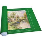 26x46inch puzzel vilt mat puzzel roll puzzel spelen puzzel opslag beschermer mat voor 1500 stuks oprolbare accessoires draagbare reis opbergtas