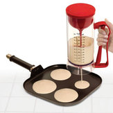 Draadloze Elektrische Pan Cake Cup Cake Wafels Batter Mixer Dispenser Maker Machine