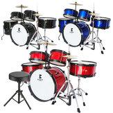 Jeanpole Conjunto de percussão musical Brinquedo Musical para crianças Instrumento Menino Instrumentos júnior