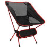 ZANLURE Opklapbare strandstoel voor buiten 120 kg Laadvermogen Draagbaar licht Maan Ruimtestoel Luchtvaart Aluminium buis Luie visstoel Accessoires voor vissen