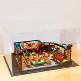 DIY Acryl Vitrine Box für LEGO 21319 Central Perk Friends Bricks Toy