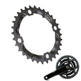 BIKIGHT 32T 9-speed Bike Tooth Disc Bicycle Chain Ring Chainring for Road Bikes Mountain Bikes