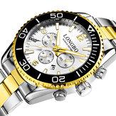 LONGBO 80523 Men Luminous Waterproof Quartz Watch