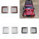 2PCS Aluminium Alloy Front Headlight Guard Mesh for Traxxas TRX-4 1/10 Crawler Rc Car Parts