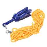 1.5kg/3.3lbs 5m Anchor Kit with Rope Bag System For Canoe Kayak Boat Accessories