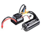 Racerstar 4076 Bürstenlose Wasserdichte Sensorless Motor 2000KV 120A ESC 1/8 Autos RC Autoteile