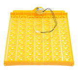 63 Position Incubator Turning Tray With a PCB Turning Motor For Eggs Quail Poultry