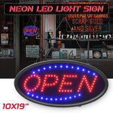 Hangend OPEN LED-bord Neon reclamelicht met knipperend voor Business Bar Store EU / US Plug