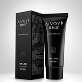 AIVOYE Blackhead Remover Deep Cleansing Acne Pore Strip Masse faciale à la boue Masque 60g