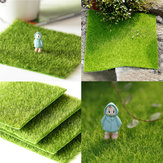 30 * 30cm Artificiale Faux Garden Turf Grass Lawn Moss Miniature Craft Ecologia Decor