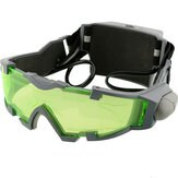 Night Vision Goggles Lens Adjustable Elastic Band Night Glasses Eyeshield Seluruh Dunia Hijau