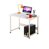 Computer Desk Large Desktop Desktop Single Board Table Learning Computer Desk Modern Home Desk Bedroom Writing Table for Home Office