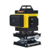 360 ° Rotativo 16 líneas Autonivelación Láser Medición automática de haz verde de nivel 4D herramienta