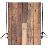 5x7Ft Fondo de fotografía de piso de madera Fondo de telón de fondo de vinilo Fotografía Studio Prop