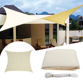 2.4M/8ft Square Sun Shade Sail UV Water Resistant Canopy Patio Garden Tent Awning