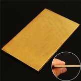 3mmx60mmx100mm Brass Sheet Plate Industry DIY Experiment Sheet
