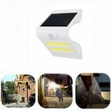 Solar Power PIR Motion Sensor COB LED Wall Light Outdoor Waterproof Garden Lamp