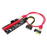 WiredLink VER009S Scheda PCI PCI-E da 1X a 16X Adattatore di estensione per scheda grafica USB3.0 per laptop PC desktop