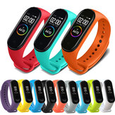 Bakeey Colorful TPE Pure Watch Band Wymiana paska do zegarka Xiaomi Miband 4 Nieoryginalny