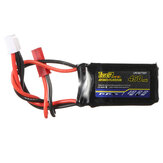 Tiger Power 7.4V 450mAh 60C 2S Lipo Batterij JST Plug
