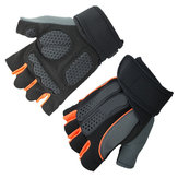 KALOAD 1 Para Anti-Rutsch-halbe Fingerhandschuhe Outdoor Reiten Fitness Sport Übung Training Gym Handschuhe