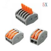 Excellway® ET25 2/3/5 pins veeraansluitblok 5-delige elektrische draadkabelconnector