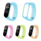 Bakeey Universal Translucent Color Replacement Watch Band for Xiaomi Band 4&3 Smart Watch   Non-original
