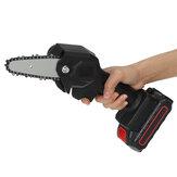 Sega a catena elettrica 24V 1200W 4 pollici Sega a catena elettrica per lavorazione del legno W / 0/1 / 2pcs Batteria