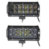 60W 12 Ledler Işık Bar Projektör / Spot Işık İş lambası ATV Off Road Sürüş Lamba DC10-30V