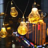 Bateria Alimentado 4 M 20LED Light String Luz Romântica Decoração Da Festa de Natal Do Feriado