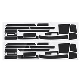 For BMW 3-Series E46 2001-04 Glossy/ Matte Carbon Fiber Sticker Vinyl Decal Trim