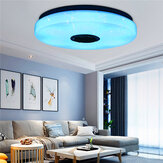 30W Modern Dimmable LED RGB Bluetooth Music Ceiling Light APP Remote Control